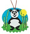 Panda & Friends Ornament Craft