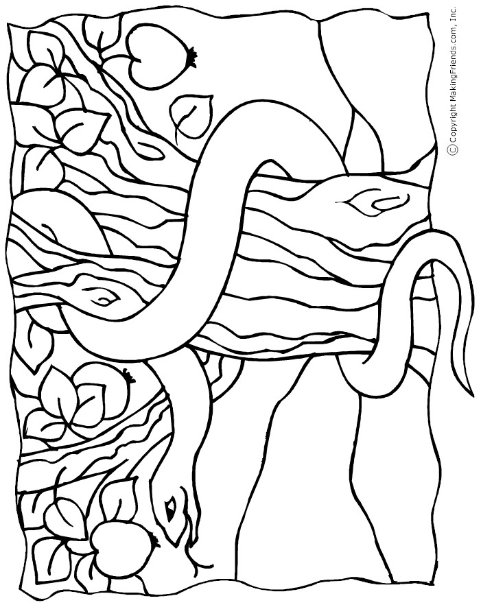 coloring pages garden of eden - photo#17