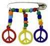 Coiless Peace Sign Pin Kit