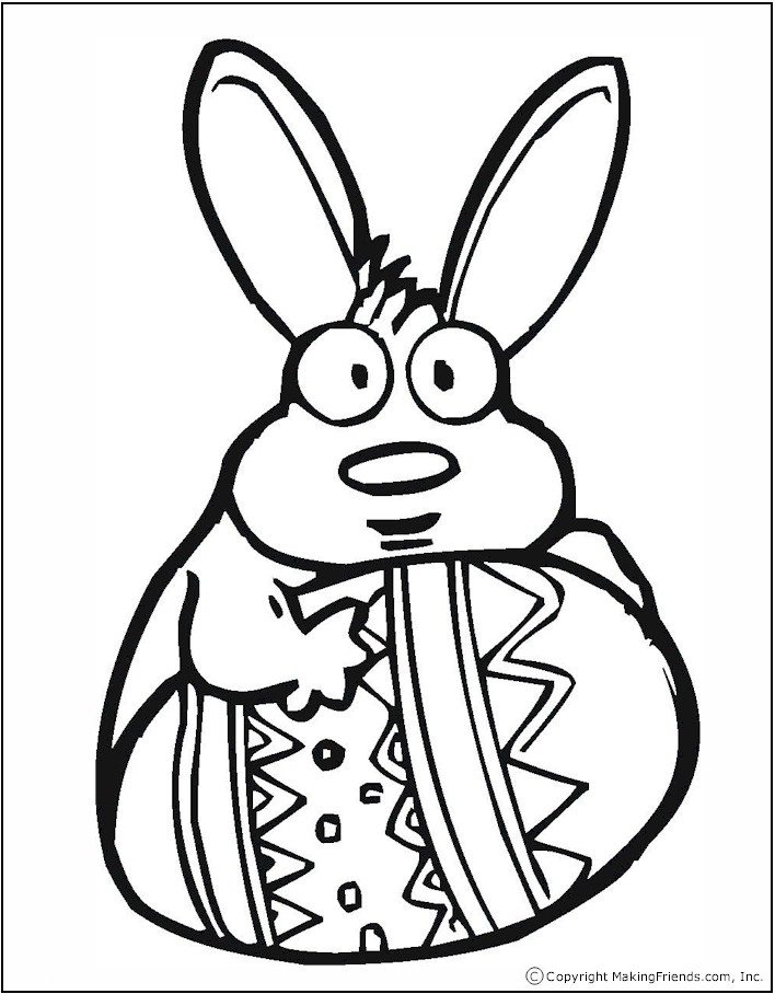 easter eggs pictures to color. easter eggs to colour and