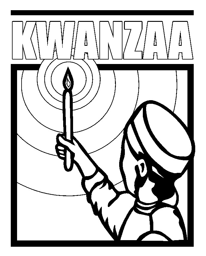 kwanzza coloring pages - photo#4