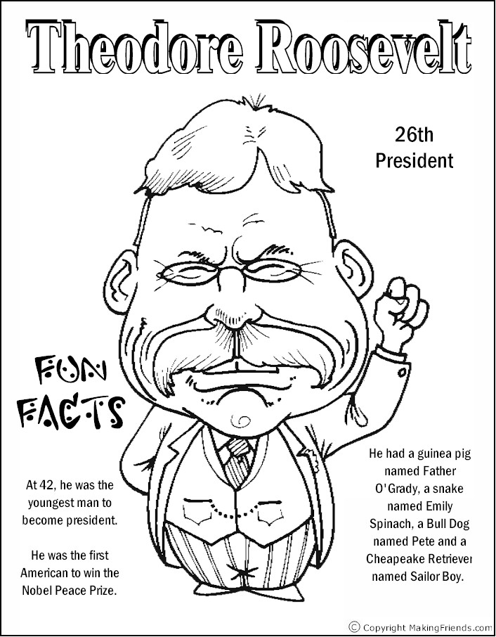 Presidents' Day   Free Coloring Pages   crayola.com   906x706