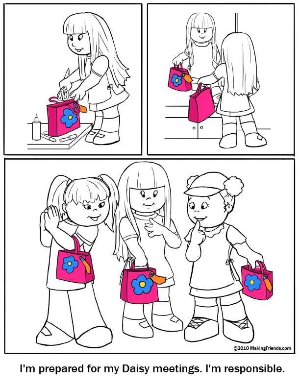 responsibility coloring pages - photo#12