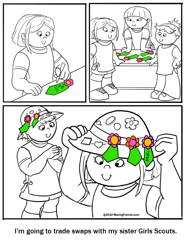 daisy girl scout coloring pages - daisy girl scout coloring pages free coloring pages