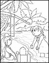 Coloring pages fiji ~ International Girl Guide Coloring Pages