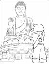 Hong Kong  Girl Guide Coloring Page