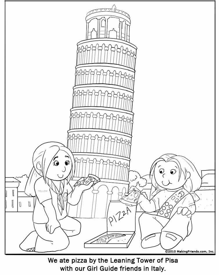 Coloring Pages Italy. Coloring Pages gril guilds title=