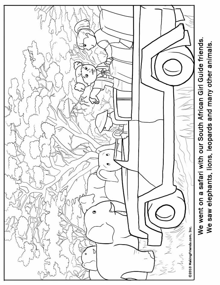 United Kingdom Girl Guide Coloring Page Guide Coloring Pages