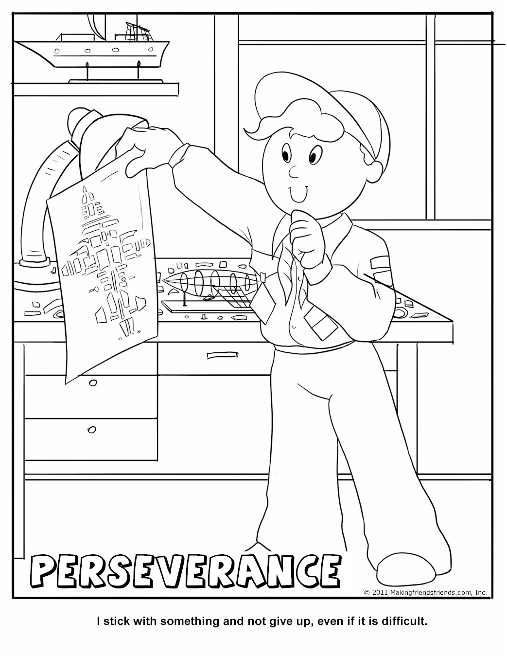 Club With A Cub Coloring Page Coloring Pages Cub Scouts Coloring Pages