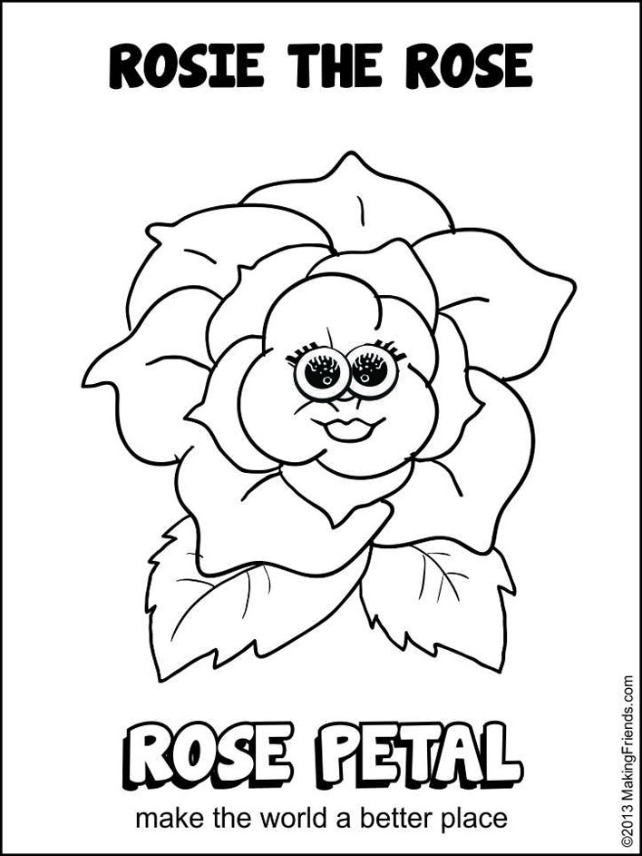 lupe daisy coloring pages - photo#25