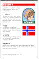 Fact Card for Norway