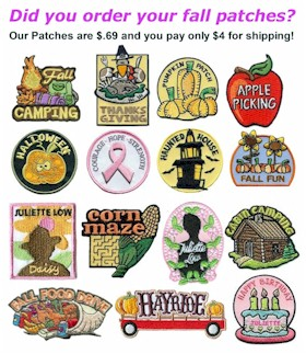 Fall Girl Scout Patches