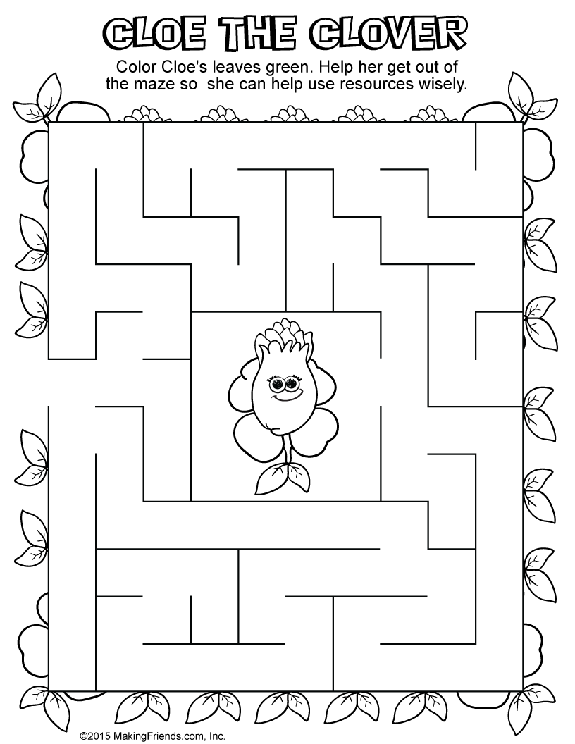 using resources wisely coloring pages - photo#32