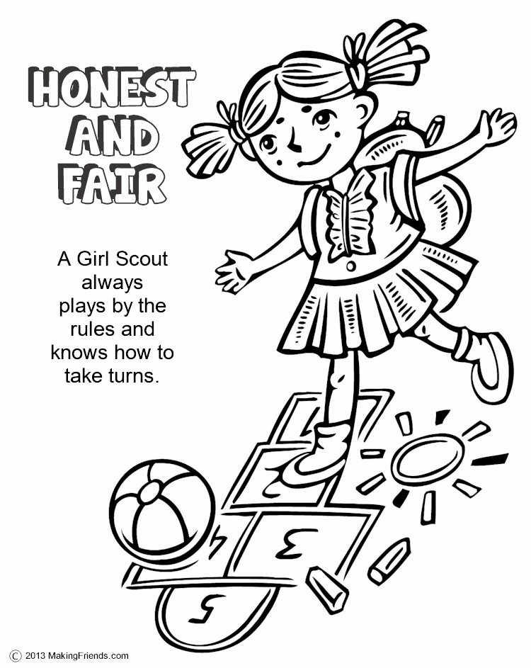 Fairness Coloring Pages