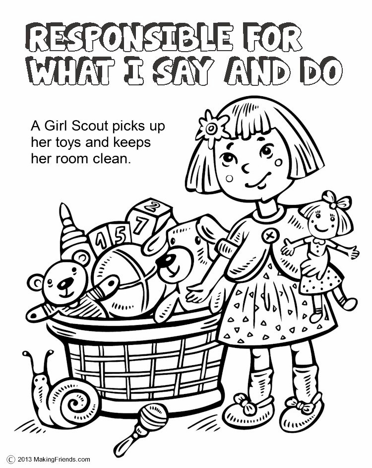 Daisy Girl Scout Coloring Pages Free | Free Printable Coloring ... | 943x750