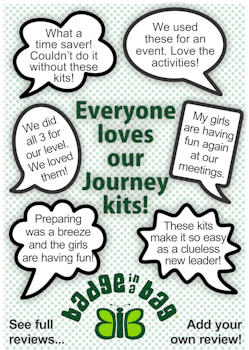 Girl Scout Journey Kits