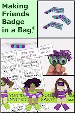 Making Friends Badge in a Bag