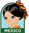 Mexico Thinking Day Patch