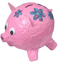 how to make a secure piggy bank