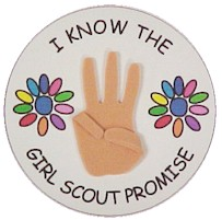 Girl Guide Promise Craft