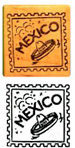 Mexican Rubber Stamp