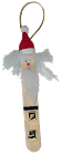 Santa Craft Stick Ornament