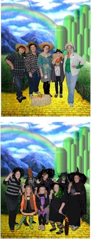 Wizard of Oz Theme Girl Scout Fun