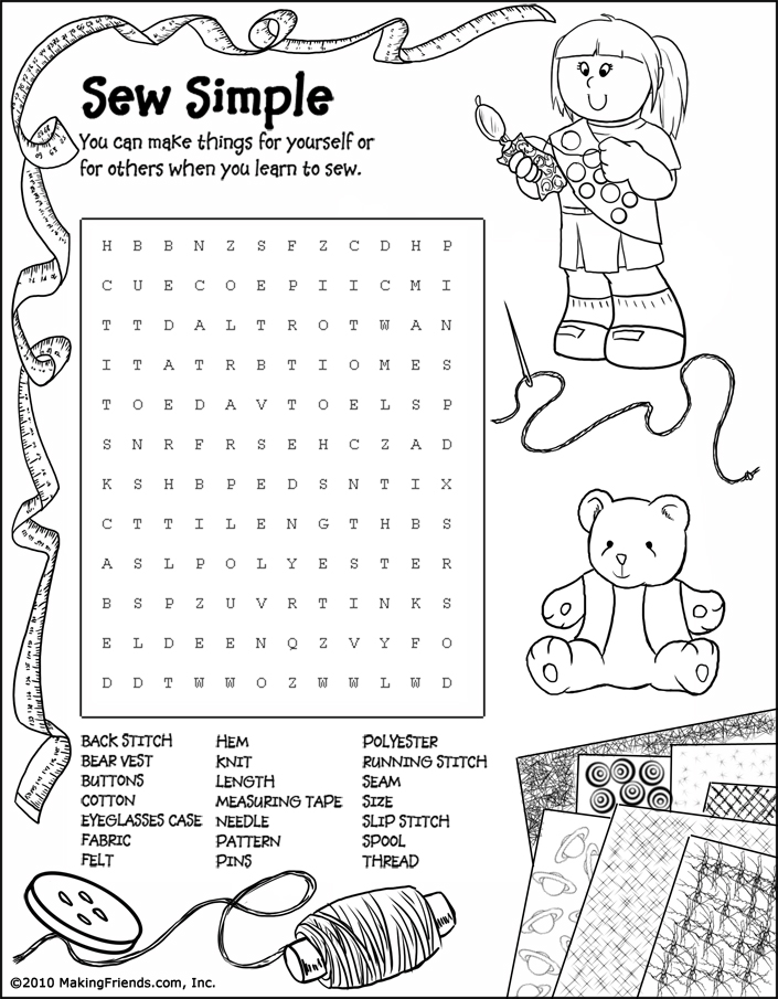 Girl Scout Junior Coloring Pages Junior Girl Scout Word Search